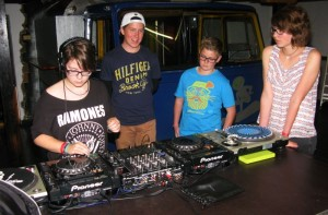 FERIENSPAß DJ WORKSHOP 2014 A
