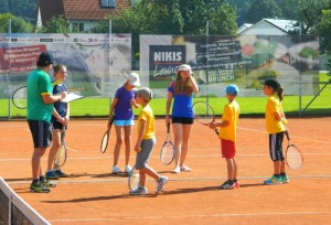 FERIENSPAß TENNIS 2014