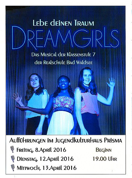 DREAMGIRLS REAMUSICAL 2016